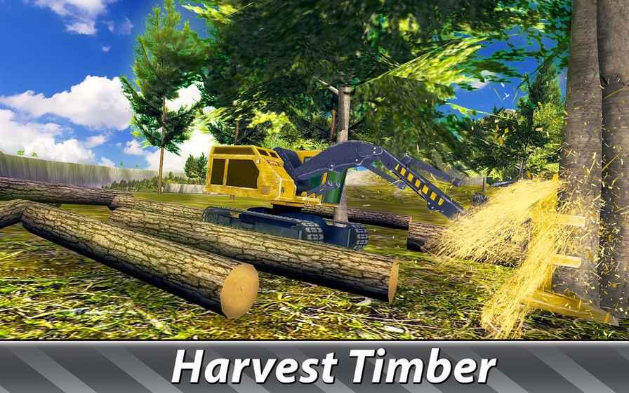 伐木车司机模拟2截图