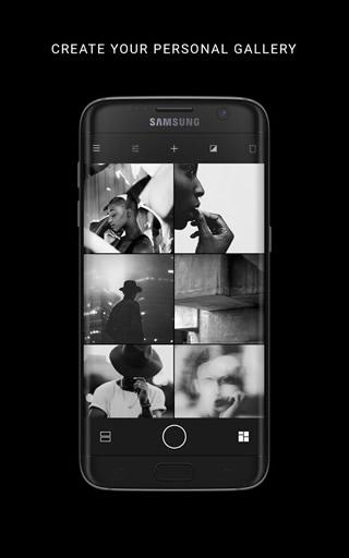 黑白摄影截图