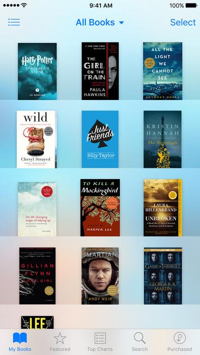 iBooks截图