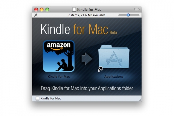 Kindle Mac版截圖