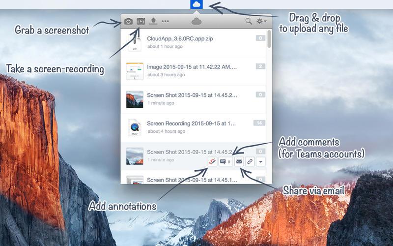 CloudApp Mac版截图