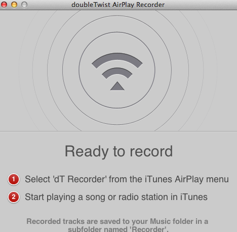 Airplay recorder for mac截图