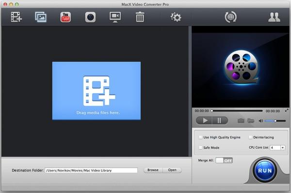 MacX Video Converter Pro for mac截图
