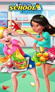学校食堂狂欢派对