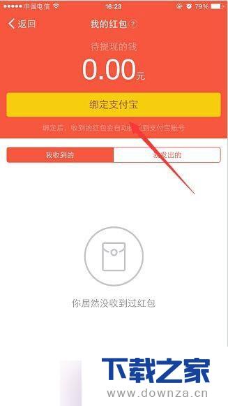 在手机钉钉中实行绑定支付宝的详细方法截图
