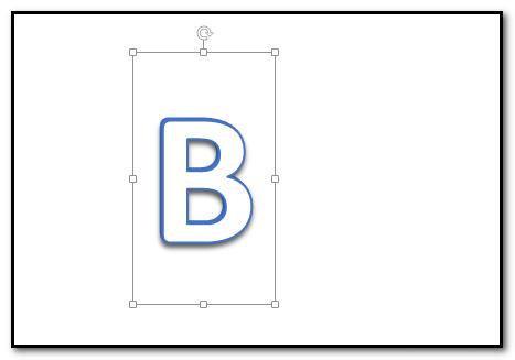 ppt打造出加厚的立体文字的操作教程截图