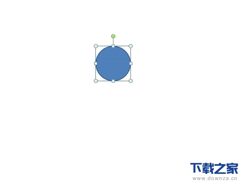 ppt设计出小球弹跳动画的操作步骤截图