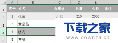 Excel借助ROW函数快速制作序号的图文详解