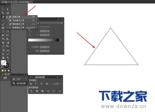 使用Ai做出金色立体三角形的图文教程