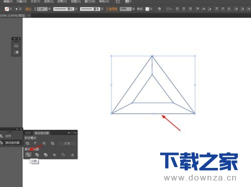 使用Ai做出金色立体三角形的图文教程截图