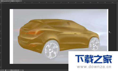 利用PS画出汽车的具体操作方法截图