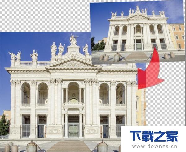 使用PS工具修正变形照片的操作教程