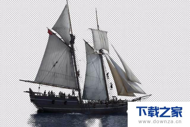 利用photoshop抠帆船的具体操作教程截图