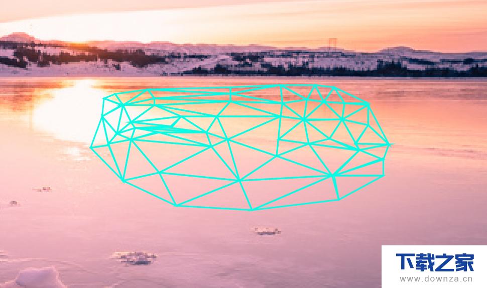 用AI将图片变为多边形背景的图文教程截图