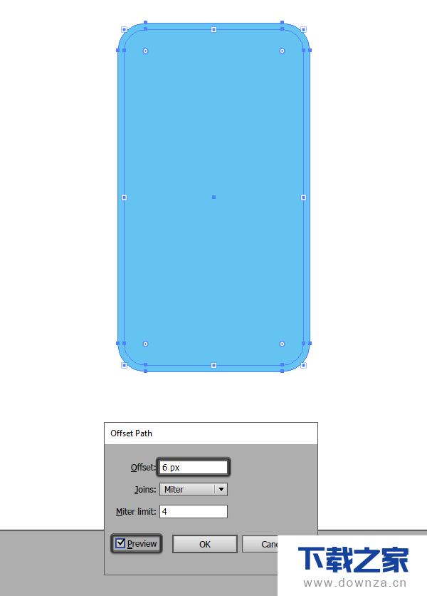 利用AI制作一款好看的手机插画的操作步骤截图