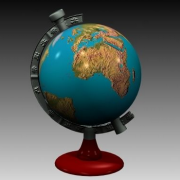 3D地球仪模型v1.5